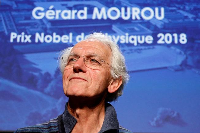 73.諾貝爾物理獎得主穆盧。(路透)