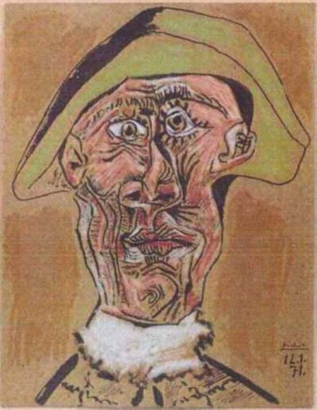 畢卡索失竊名畫現蹤? 原來是宣傳噱頭