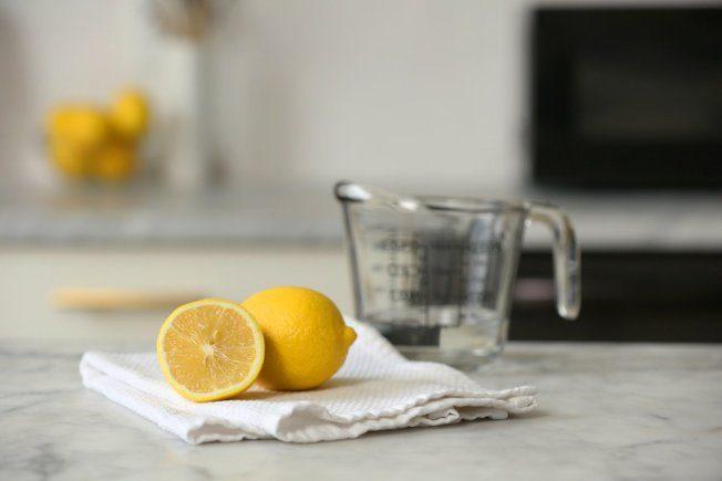 清理微波爐 1顆檸檬就搞定