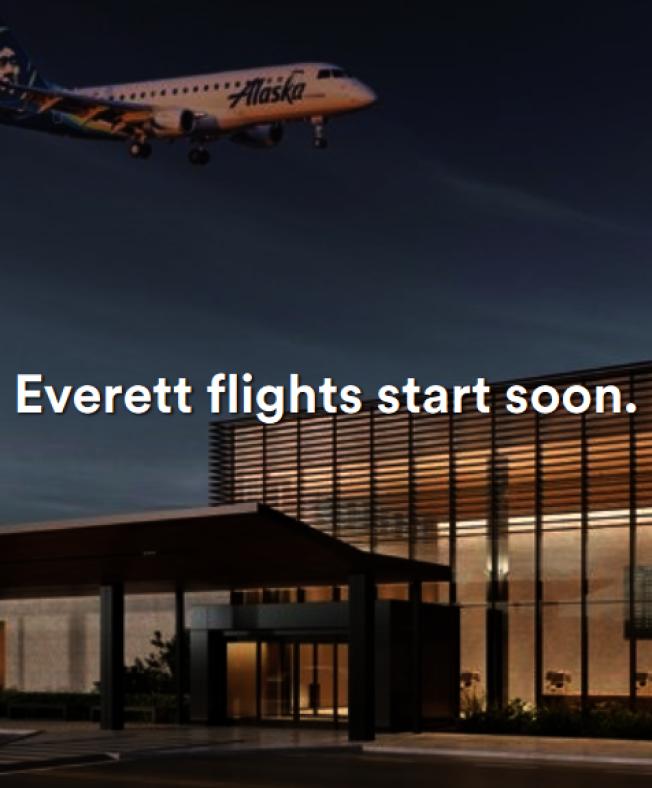 阿拉斯加航空明年2月將開啟Paine Field機場航線。(取自阿拉斯加航空官網)