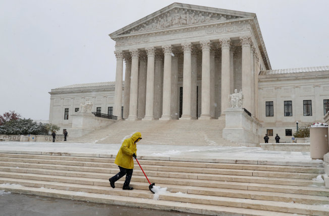 聯邦最高法院。(路透)