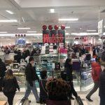 新英格蘭黑五氣溫創新低 購物熱情不減