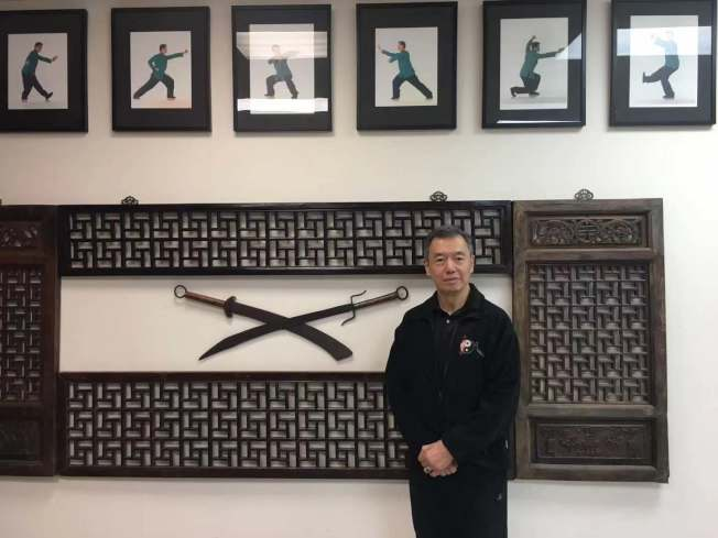 武馆就像朱超然的第二个家,学生的改变和进步是他坚持36年的关键。(记者张筠/摄影)