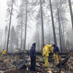 雨降天堂鎮  北加州造成85死野火終於被控制