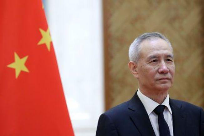 中國國務院副總理劉鶴。路透