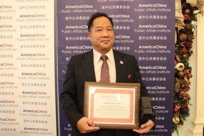 白原市公安局長張卓鳴 獲傑出執法華裔
