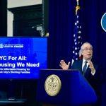 緩解平價屋危機 斯靜格:紐約為所有人