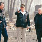 視察加州史上最慘野火 川普仍不信氣候變遷