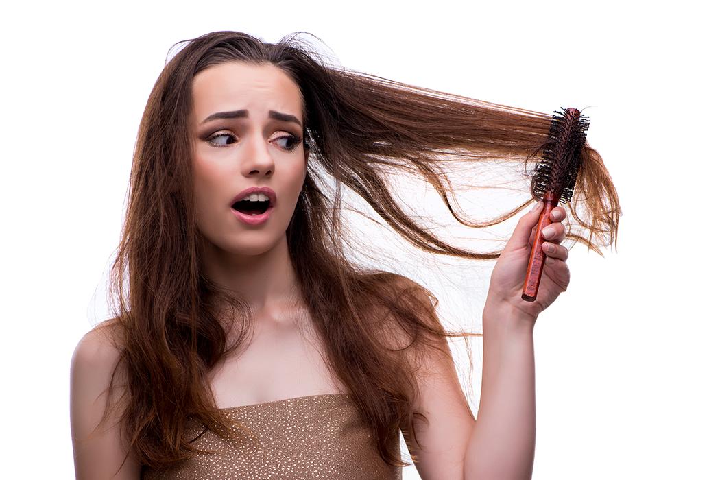掉髮及頭髮毛糙,應該是不少女性的煩惱。 圖/ingimage