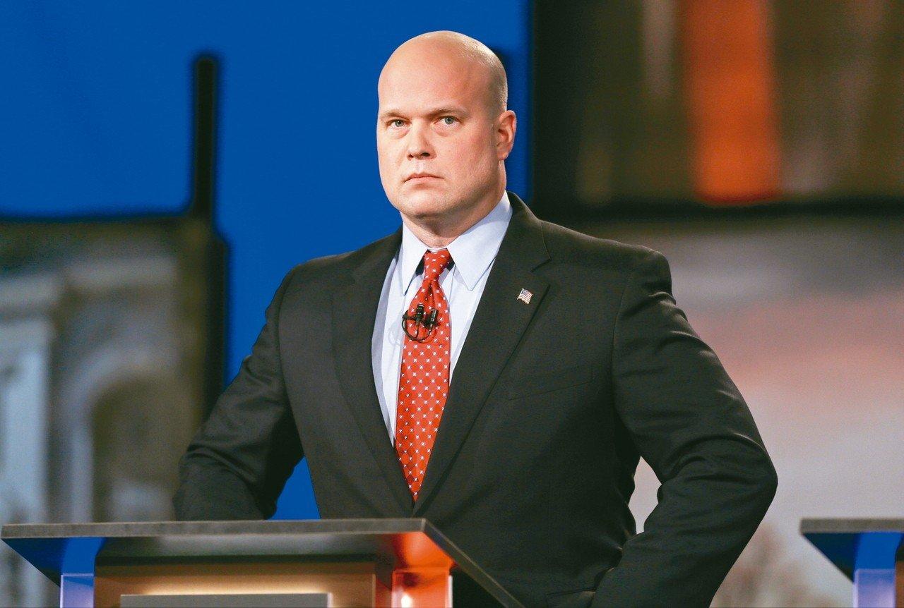 司法部長塞辛斯被辭職,由惠特克擔任代理司法部長。 (美聯社)