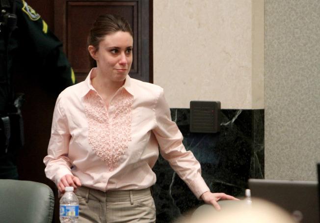 女兒失蹤多日,凱西安東尼並未報案。(Getty Images)