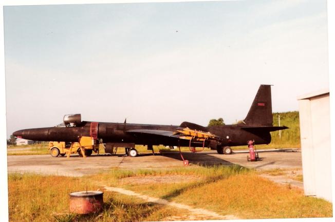 中華民國空軍使用的美國U-2戰略偵察機,50多年前從桃園基地出發至中國做高空偵照。(報系檔案照片,中華民國國防部提供)