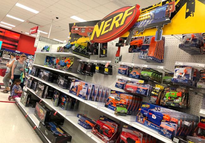 目標百貨店今年聖誕節要全力搶攻玩具市場。(Getty Images)