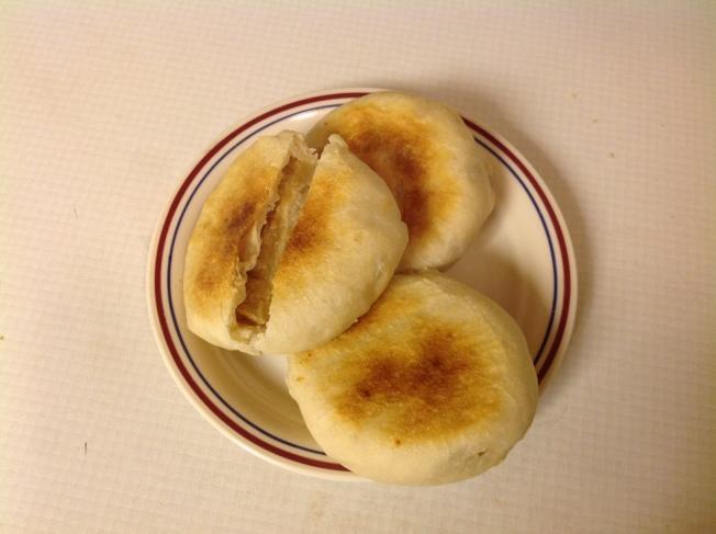 綠豆沙烤餅