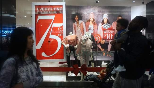 十年滄海桑田,零售業和購物型態大轉變。(Getty Image)
