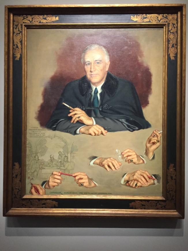 受到詛咒的富蘭克林羅斯福總統。