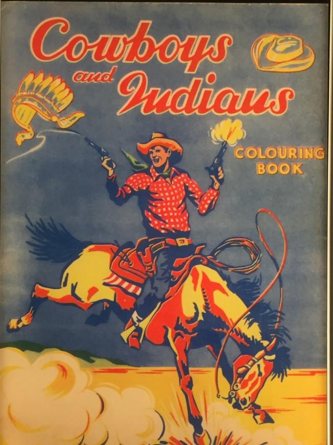 牛仔與印第安人的戰爭。