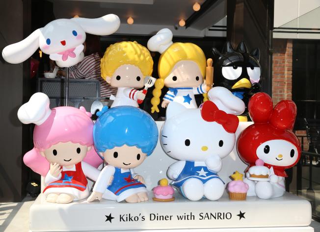 三麗鷗卡通的名字也成了日本爸媽取名來源。(本報資料照片)