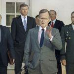 支持兩德統一 推動蘇聯解體 老布希讓美國獨霸世界
