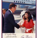 南加華人憶老布希 隨和親切