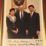 老布希走了 華裔舊識惋惜