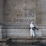 搞破壞洩憤!「黃背心」大鬧巴黎 凱旋門遭塗鴉洗劫