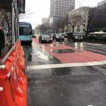 紐約地蘭西街鋪公車專用道 應對L線地鐵關閉