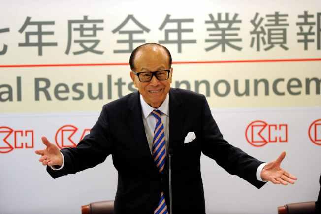 李嘉诚再售中国资产…神投资!5年赚1.44亿美元