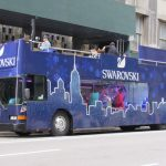 〈圖輯〉福馬公司、施華洛世奇 打造30萬顆水晶節日巴士
