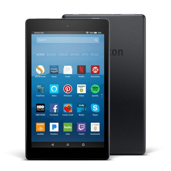 亞馬遜開發的平板電腦Fire Tablets,已經上市。(amazon.com)