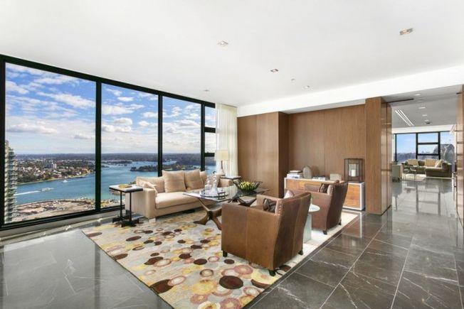 圖為網傳「奶茶妹」的澳洲豪宅內景。(取材自微博)