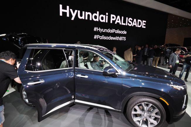 Palisade是代汽車有史以來推出的最大的SUV。(Getty Images)