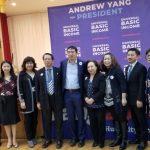 楊安澤參選總統 誓為亞裔發聲