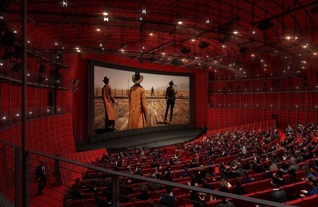 美國影藝學院博物館將建立一個容納千人、設備齊全的影院。(影藝學院提供)