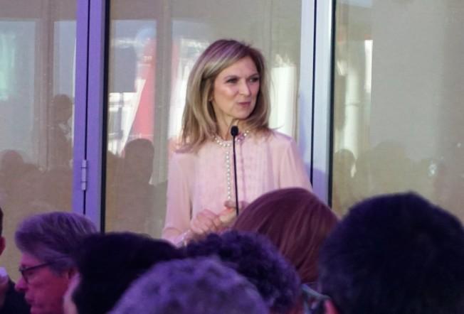 影藝學院主席Dawn Hudson出席美國影藝學院博物館發布會。(記者馬雲/攝影)