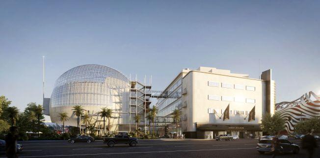 美國影藝學院博物館占地3萬平方尺。(影藝學院提供)