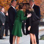 老布希葬禮前…川普夫婦「出馬」 與小布希「修好」