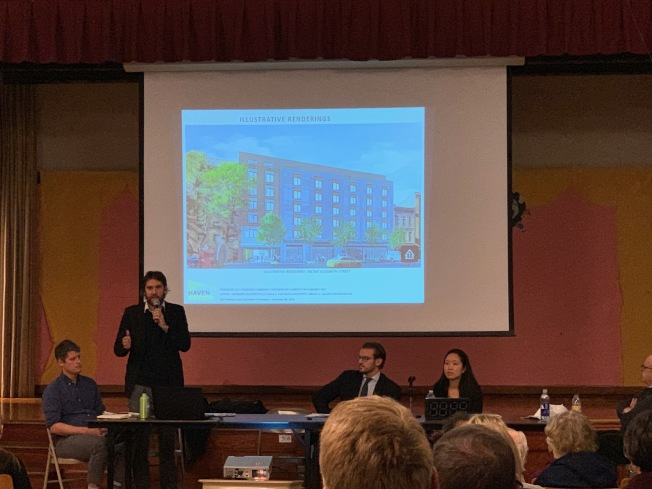 該項目的建築設計師麥洛蒂說,考慮社區需求,建築底部還將留出空地,保留通往伊麗莎白街的通道。
