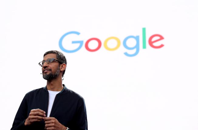 Google的臨時、供應商和合約員工連署向執行長皮采請願,希望改善他們的工作福利。(Getty Images)