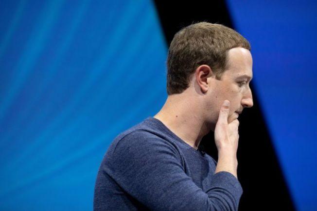 37--臉書今年醜聞不斷,導致職場排名從去年的第一跌至今年第七。(Getty Images)