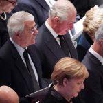 梅克爾、查理王儲…各國政要華府送別老布希