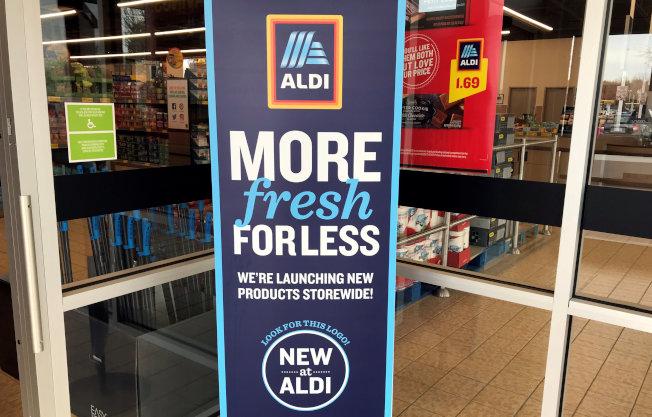 連鎖平價超市Aldi打算耗資53億元,未來五年在美國新增約800家新門市、改裝現有店面、並引進新商品。(路透)
