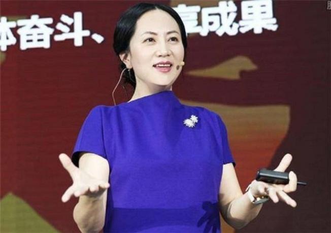 華為CFO孟晚舟。搜狐科技