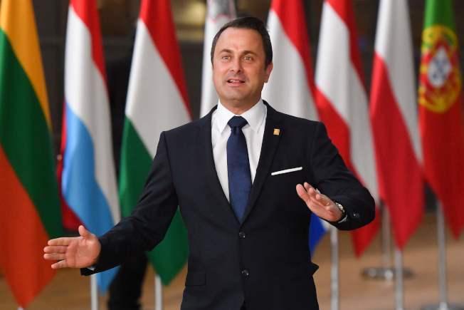 當選連任的盧森堡總理貝特爾(Xavier Bettel)昨天宣誓就任,由他領導的聯合政府計畫自明年夏天起,執行火車、電車與巴士都不收費。Getty Images
