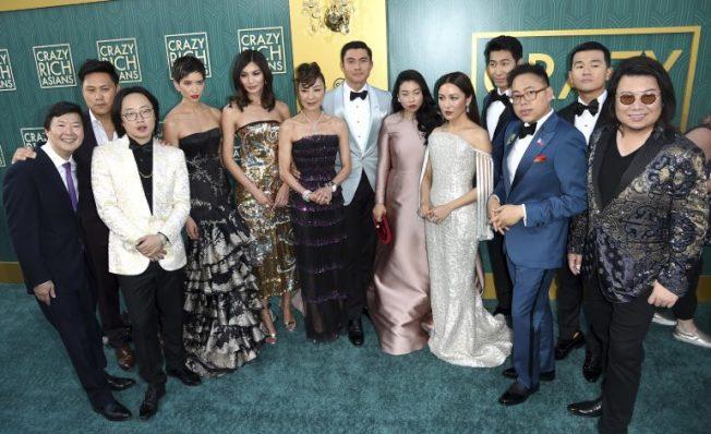 全亞裔陣容「瘋狂亞洲富豪」入圍金球喜劇類最佳影片!吳恬敏入圍喜劇類最佳女主 (華納圖片)