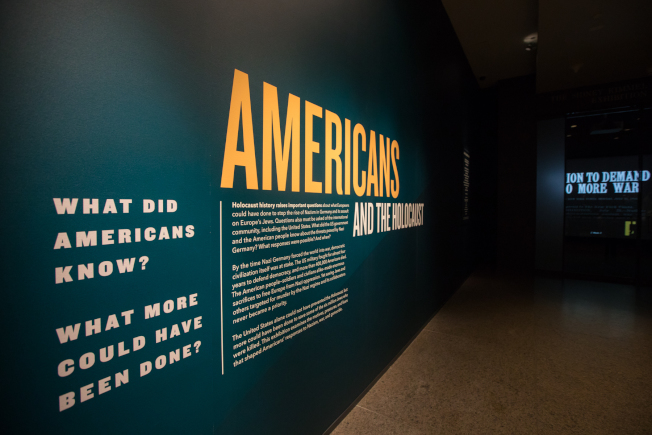 猶太人大屠殺紀念博物館推出「美國人與大屠殺」最新展覽。(博物館提供)