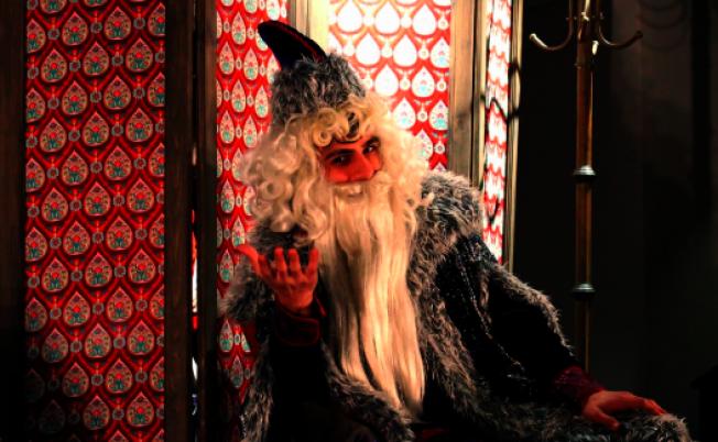 俄羅斯版的耶誕老人。(博物館提供)