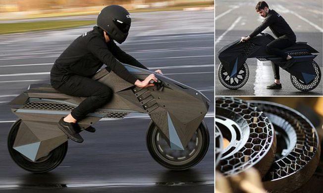全球第一台! 全3D打印摩托車