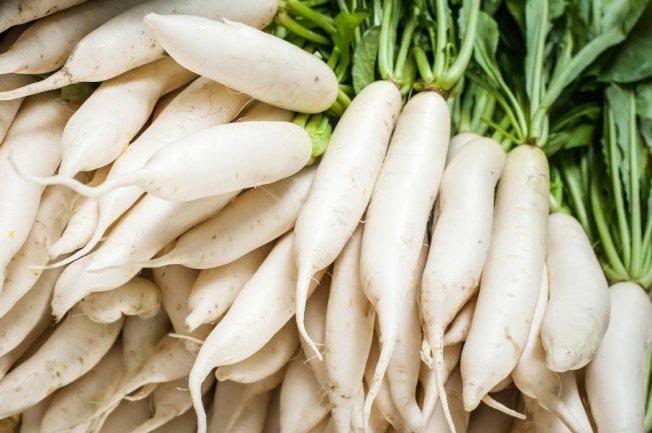 白蘿蔔有化痰清熱、解毒等功效。 圖/ingimage
