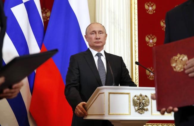 俄總統普亭(Vladimir Putin)。美聯社